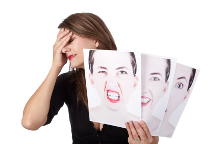 Woman Struggling With Her Emotions