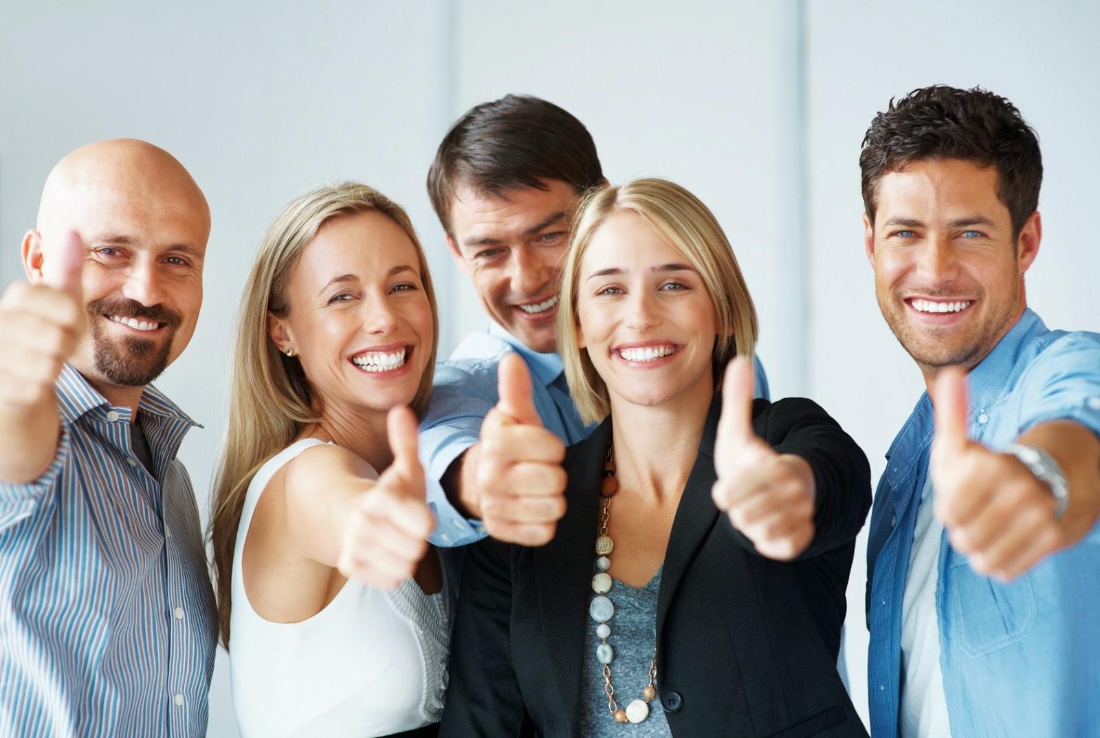 people thumbs up Fotolia_30042598_M